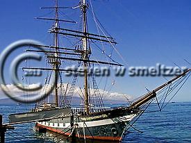 Carthaginian, At the Dock, Maui Hawaii (Steven Smeltzer)