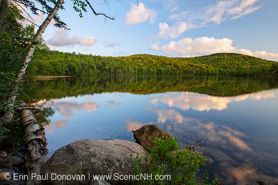 Russell Pond in Woodstock, New Hampshire.