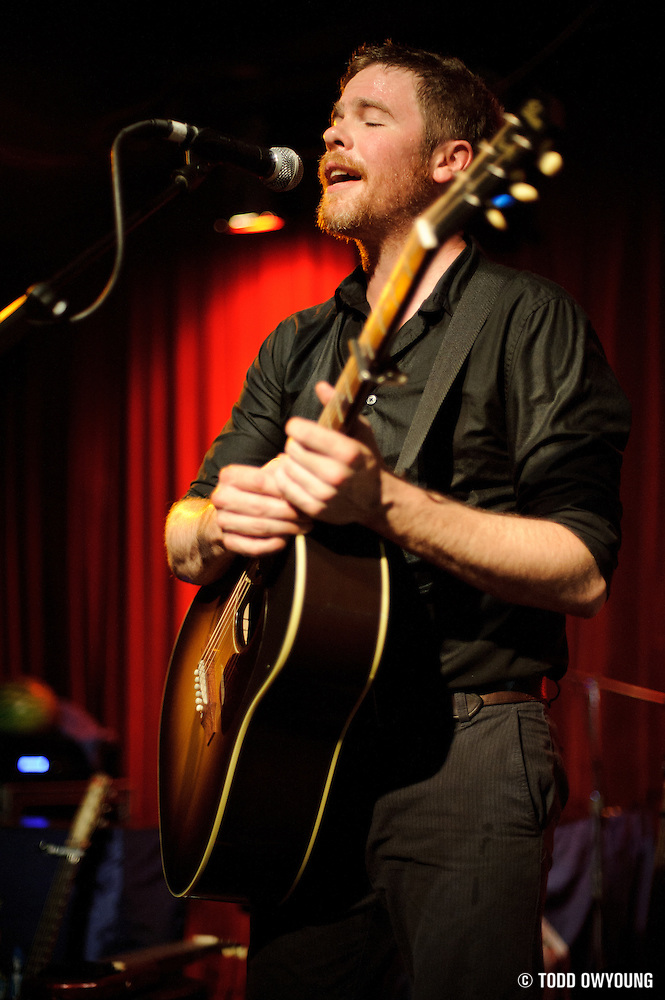 Josh Ritter performing at Off Broadway in St. Louis, Missouri on July 22, 2011. © Todd Owyoung. (Todd Owyoung)