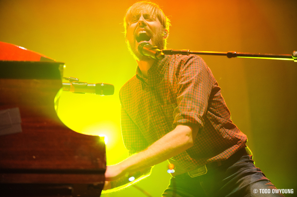Jack's Mannequin performing at The Pageant in St. Louis, Missouri on January 19, 2012. (Todd Owyoung)