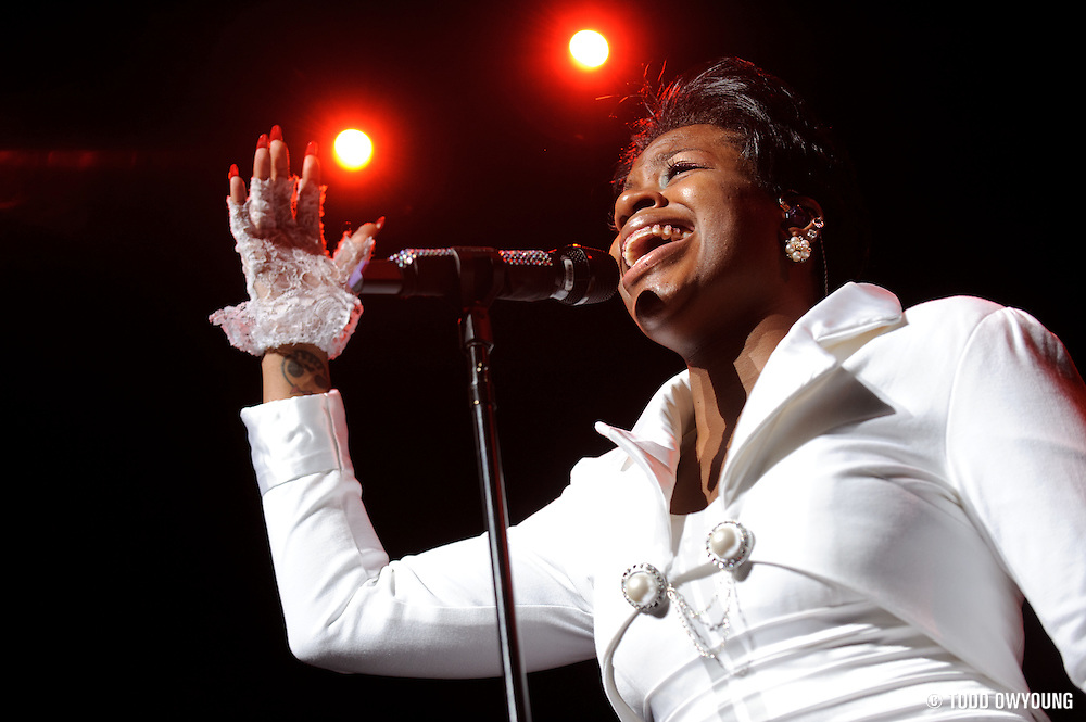 American Idol Season 3 winner Fantasia Performing At The Fox Theater 2011 (TODD OWYOUNG)
