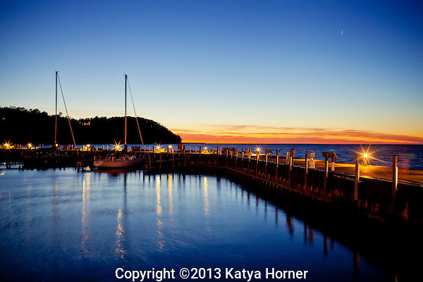 A windy fall evening at Sister Bay Marina in Door County, Wisconsin. (Katya Horner/Slight Clutter Photography)