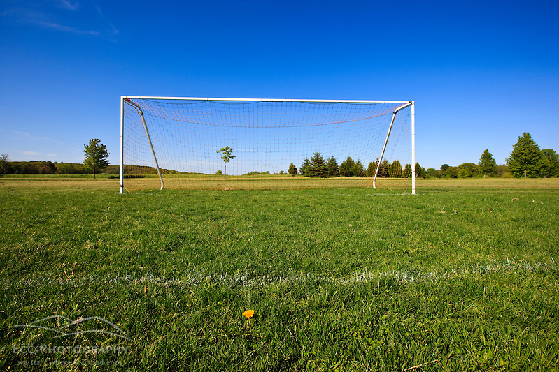 A soccer field in Ipswich, Massachusetts. (Jerry and Marcy Monkman)