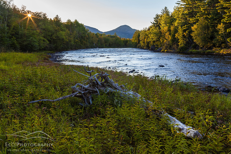 East Branch of the Penobscot River at Stair Falls in Maine's Northern Forest. Adjacent to the International Appalachian Trail. (Jerry and Marcy Monkman)
