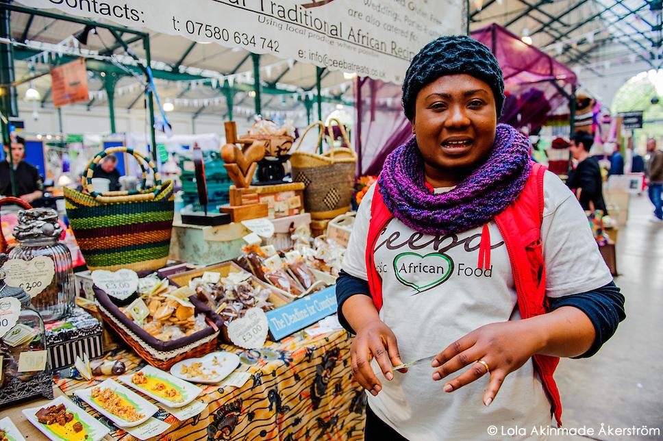 Ireland St. George's Market in Belfast (Lola Akinmade)
