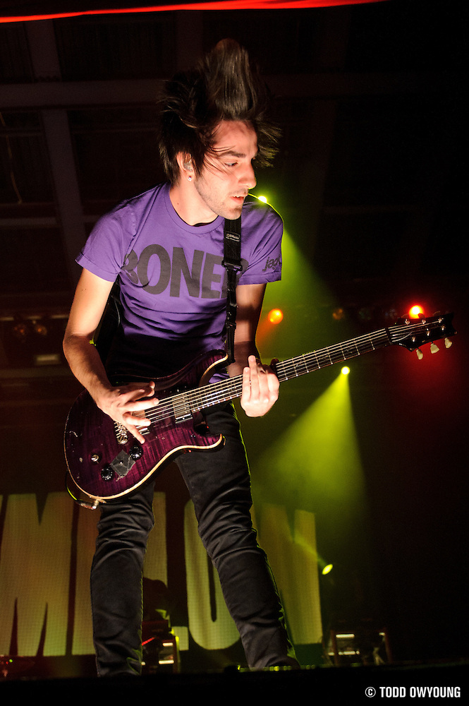 Photos of the pop punk band All Time Low performing at the Pageant in St. Louis on April 5, 2011 (Todd Owyoung)