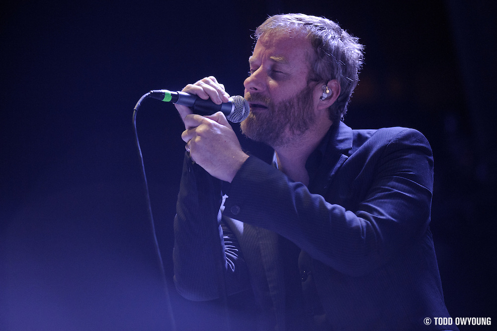 Photos of the band The National performing at the Scottrade Center in St. Louis in support of The Arcade Fire on April 21, 2011. (Todd Owyoung)