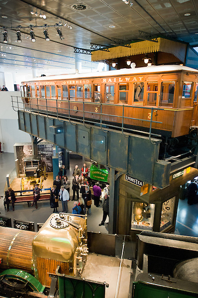 The Overhead railway  feature in the Museum of Liverpool. (Pete Carr)
