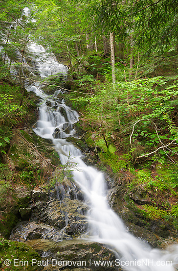 Kinsman Notch - Tributary of Lost River in Woodstock, New Hampshire USA during the summer months