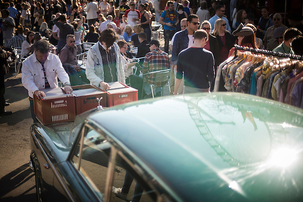 The Classic Car Boot Sale, South Bank, London, England, United Kingdom, Europe (Matthew Williams-Ellis)