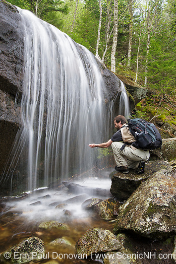 Kinsman Notch - Tributary of Lost River in Woodstock, New Hampshire USA during the spring months.