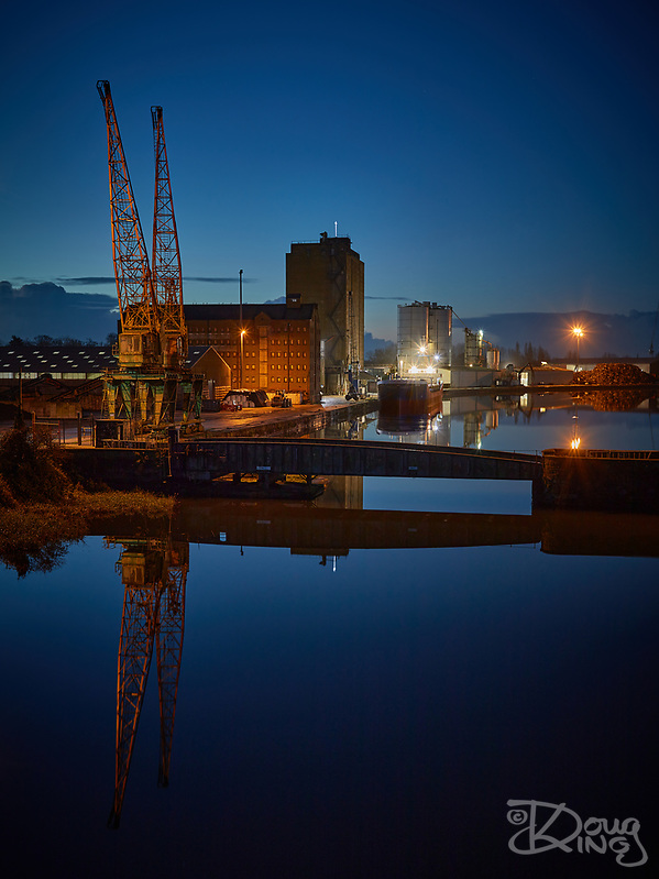 Sharpness Docks Before Dawn (Doug King)