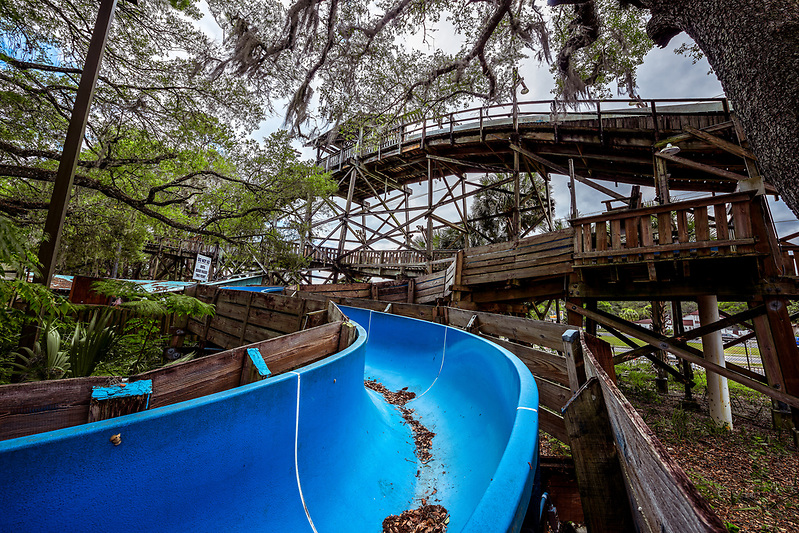 Wild Waters - Abandoned Water Park at Silver Springs - The