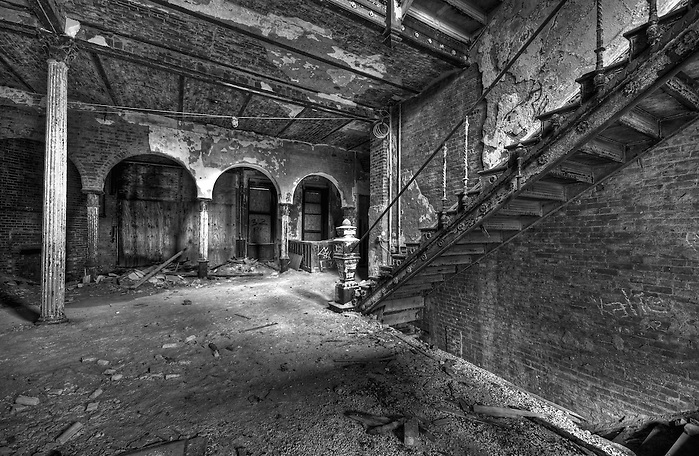 The Abandoned Jackson Sanatorium in Dansville NY. (Walter Arnold Walter Arnold)