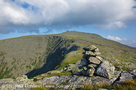 Mount Washington from Mount Clay in New Hampshire.