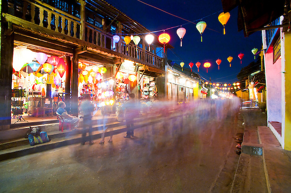 Hoi An Full Moon Chinese Lantern Festival - Hoi An streets at night