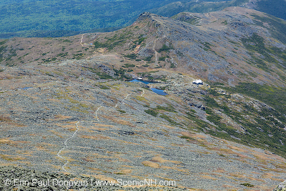 Presidential Range, Lakes of the Clouds from along the Crawford Path (Appalachian Trail) near the summit of Mount Washington in New Hampshire.