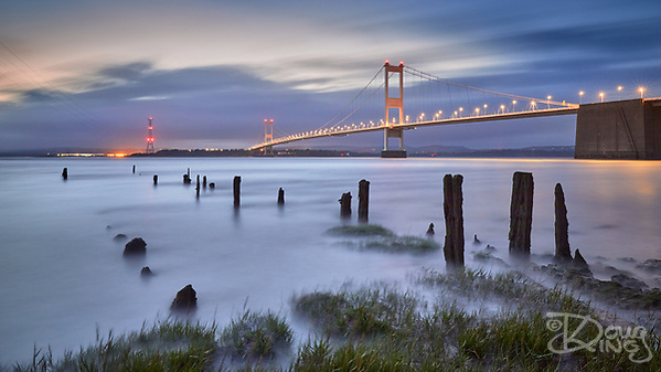 Severn Bridge at Night (Doug King)