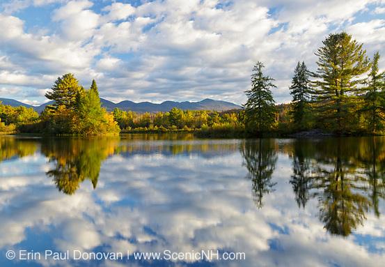 Coffin Pond in Sugar Hill, New Hampshire.