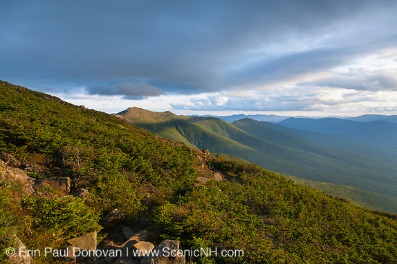 Sunset from along the Jewell Trail in the White Mountains, New Hampshire