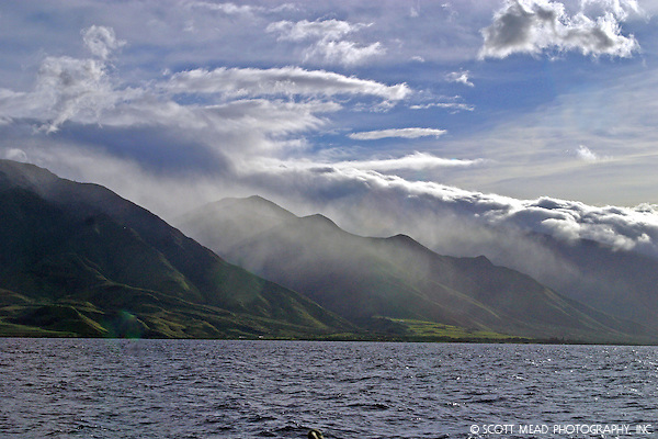 West Maui Mountains, view from Lahania Harbor (© Scott Mead Photography, Inc. ALL RIGHTS RESERVED)
