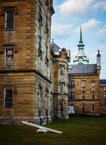 The historic Trans-Allegheny Lunatic Asylum in Weston, West Virginia (Walter Arnold Photography)