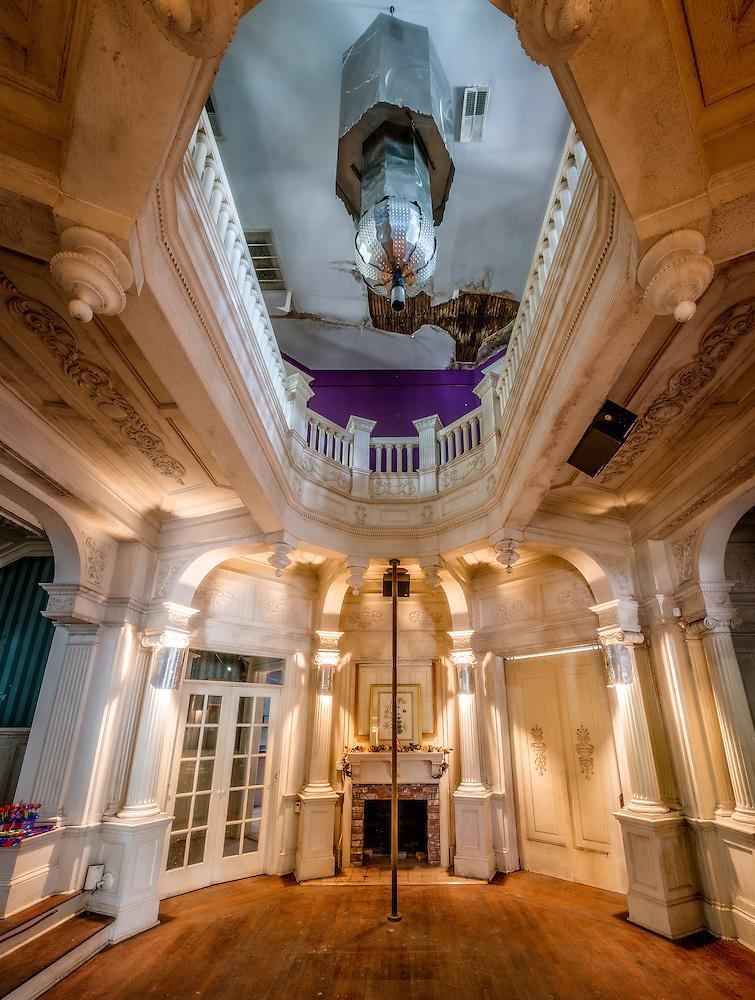 Ashlar Hall in Memphis, TN. Prince Mongo's Castle. (Walter Arnold)