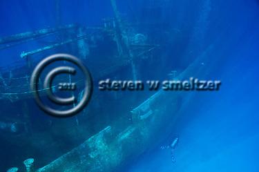Rays of Light, USS Kittiwake, Grand Cayman (StevenWSmeltzer.com)