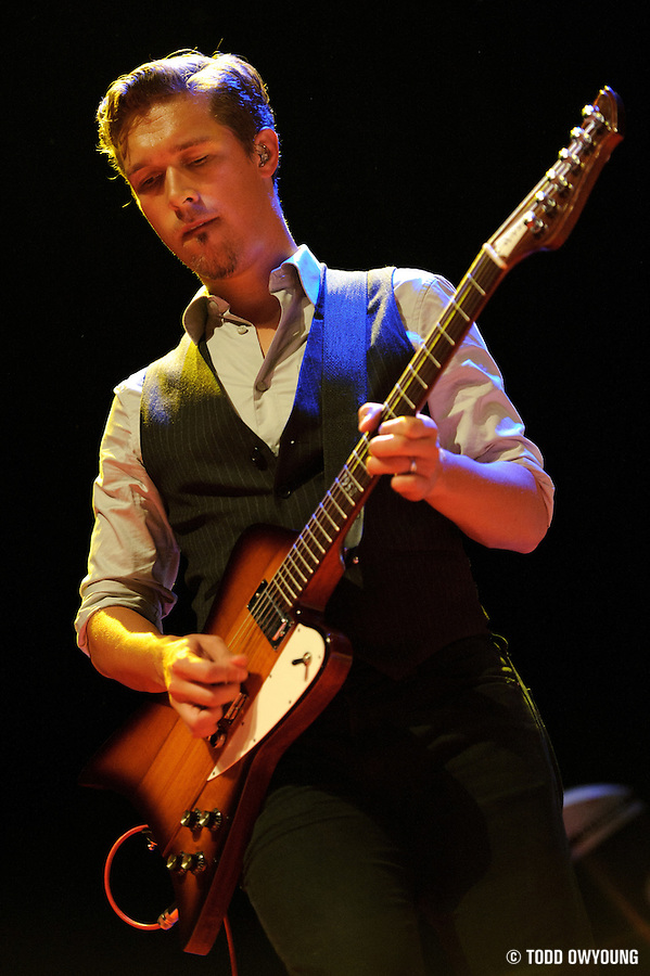Photos of the band Hanson performing live at the Pageant in St. Louis on August 5, 2010. (TODD OWYOUNG)