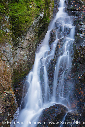 Proteus Falls along Townline Brook in the White Mountains, New Hampshire USA. These are a  series of three waterfalls referred to as Triple Falls (Erin Paul Donovan | ScenicNH.com Photography)