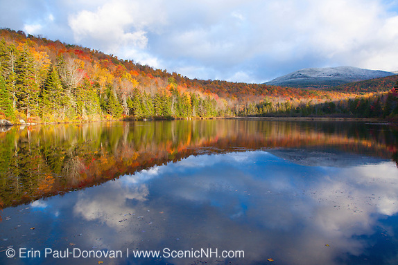 Sandwich Notch - Kiah Pond during the autumn months in Sandwich, New Hampshire.