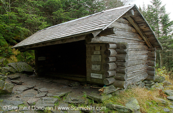 The Perch Shelter is located along Perch Path in Cascade  Ravine just off the Randolph Path and Israel Ridge Path in the Northern Presidential Range, which is located in the White Mountain National Forest of New Hampshire.