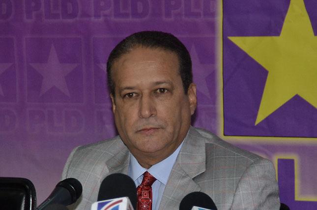 Reinaldo Pared Perez, secretario general del PLD