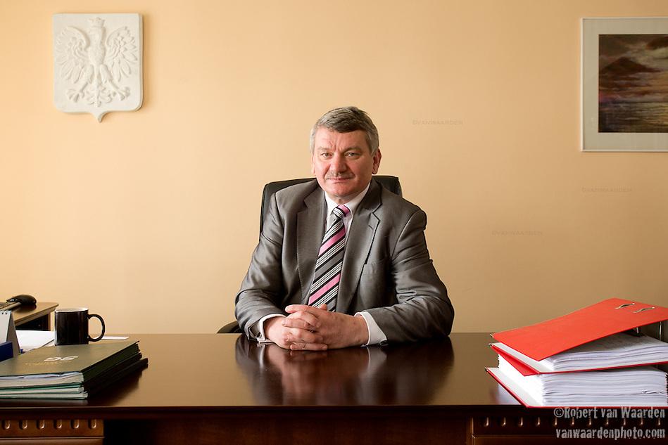 Leszek Kuli?ski, mayor of Kobylnica, Poland. (Robert van Waarden)