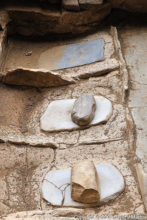 Stone Grain Grinding Tool. (David J Mathre)