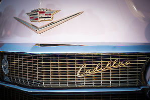 Cadillac at The Classic Car Boot Sale, South Bank, London, England, United Kingdom, Europe (Matthew Williams-Ellis)