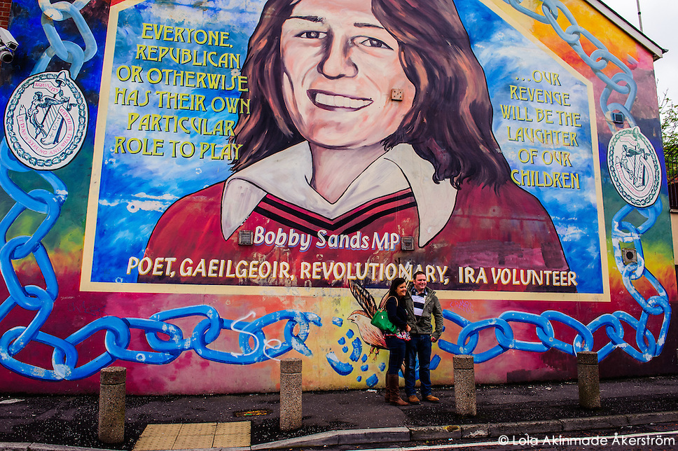 Ireland History on the streets of Belfast (Lola Akinmade)