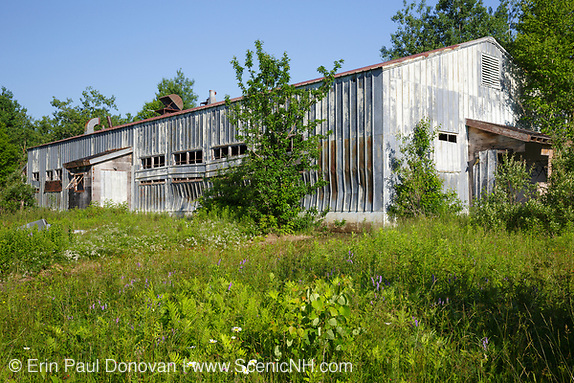 The abandoned dinning hall at Lyndonville Air Force Station on East Mountain in East Haven, Vermont. The US Air Force built the North Concord Radar Station on top of East Mountain in 1955. Its name was changed to Lyndonville Air force Station in 1962 and then closed in 1963. In 1961, the station supposedly reported a UFO sighting just a few hours (+/-) before the reported abduction of Barney and Betty Hill on September 19-20, 1961.