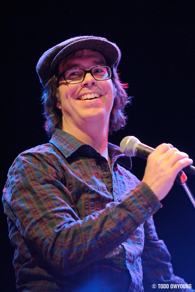 Photos of Ben Folds performing at the Pageant in St. Louis on January 30, 2011 (© Todd Owyoung)