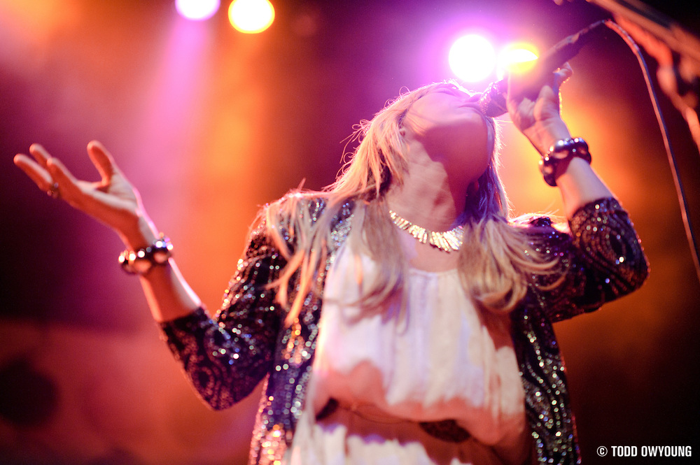 Photos of Grace Potter and The Nocturnals performing at the Pageant in St. Louis on September 24, 2010. (Todd Owyoung)