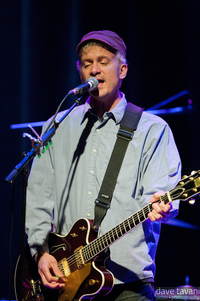 Chris Collingswood of Fountians of Wayne performs at the Sellersville Theater on March 17, 2013. (Dave Tavani)