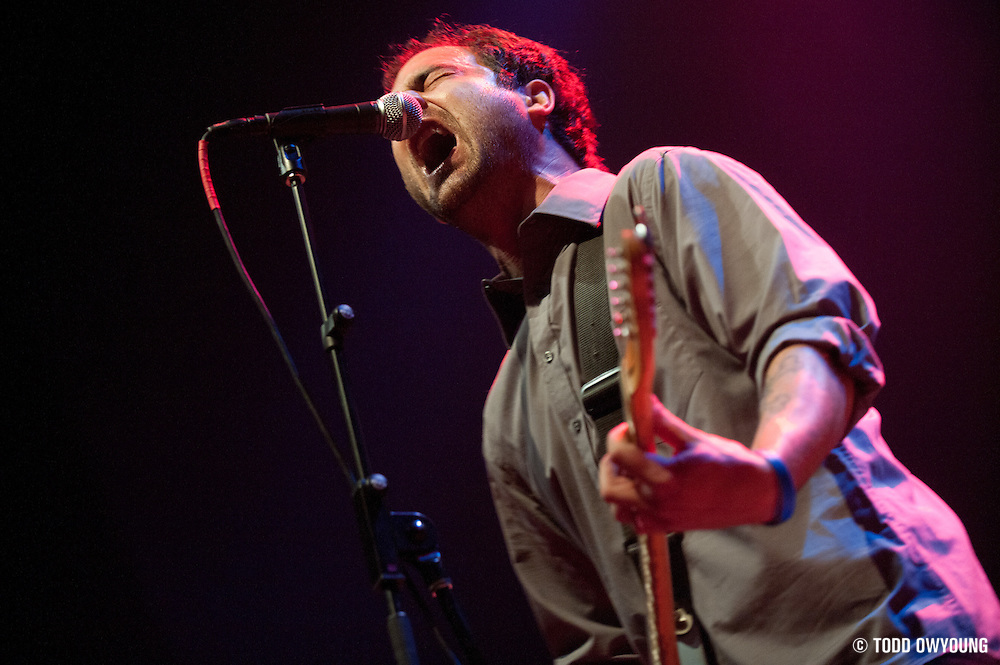 The Architects opening for Flogging Molly at the Pageant in St. Louis on March 10, 2010. (Todd Owyoung)