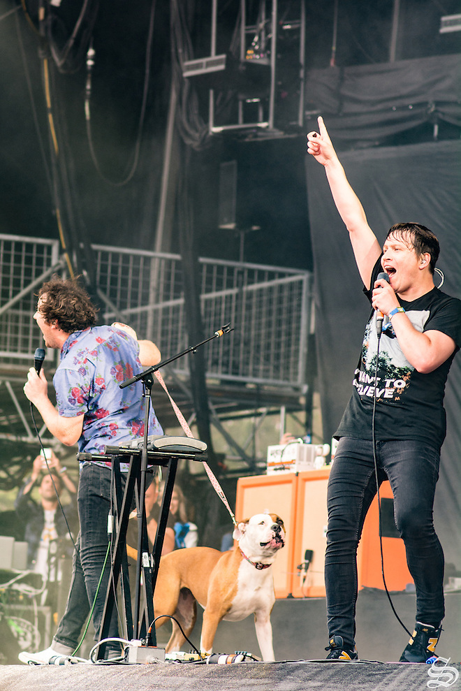 The Wombats, at Outside Lands 2016. Photo by Sam Girvin. (Sam Girvin)