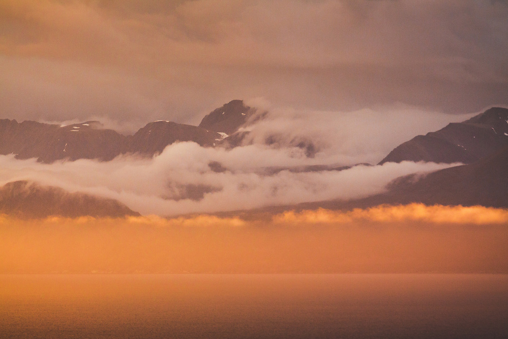 Skjevoy Fjord | Evening light mixed with clouds, Troms, Norway (Davis Ulands/Ⓒ Davis Ulands | davisulands.com)