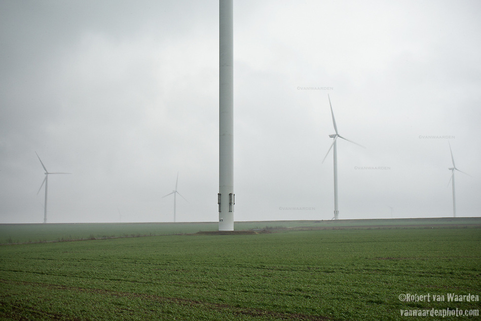 The 600mw Fantanele-Cogealac wind farm in Romania. (Robert van Waarden)