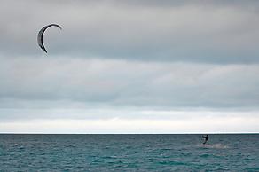 Fun&Fly + Kitesurf Mag, Kitesurfing in Rio Lagartos, Yucatan, Mexico (Anna Fishkin)