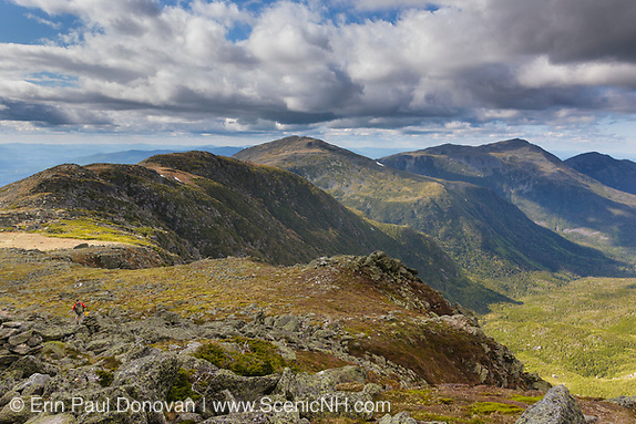Gulfside Trail (Appalachian Trail), near the summit of Mt Washington, in Thompson and Meserve's Purchase, New Hampshire.