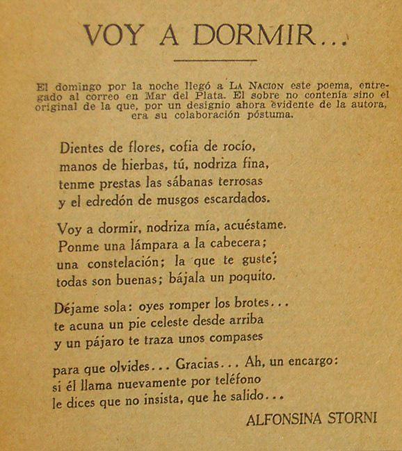 Alfonsina Storni Y Sus Círculos De Muerte Acento El Más