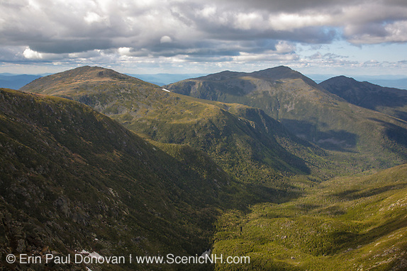 Happy Earth Day. The Northern Presidential Range from the Appalachian Trail near the summit of Mount Washington in the White Mountains of New Hampshire.