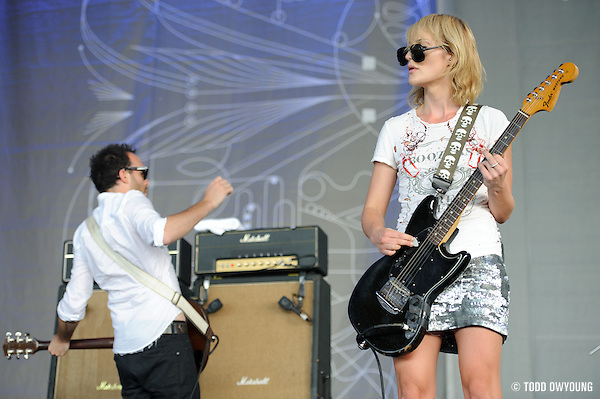 Metric perfroming at Lilith Fair 2010 at Verizon Wireless Amphitheater on July 16, 2010 (TODD OWYOUNG)